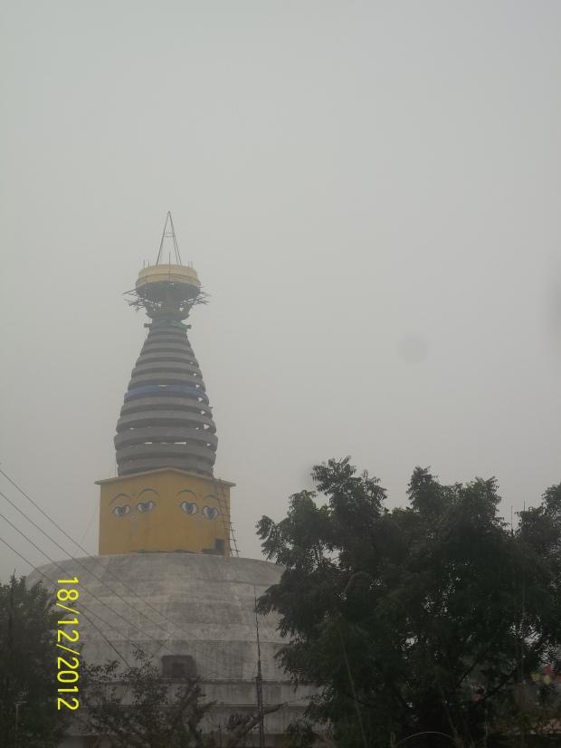 la grande stupa di Lumbini