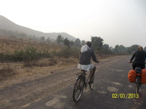 un ciclista indiano