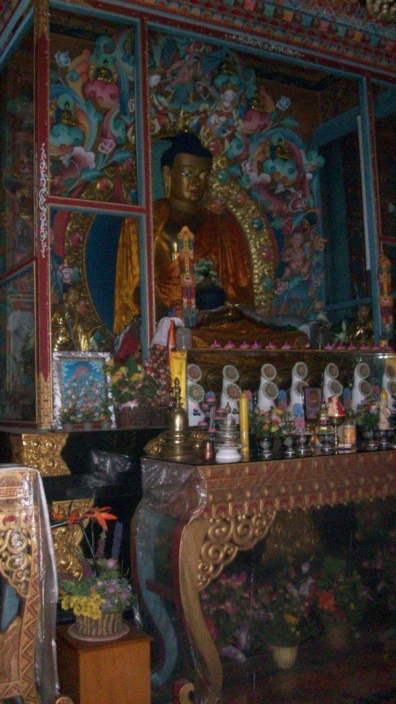 l'interno di un tempio, Lumbini