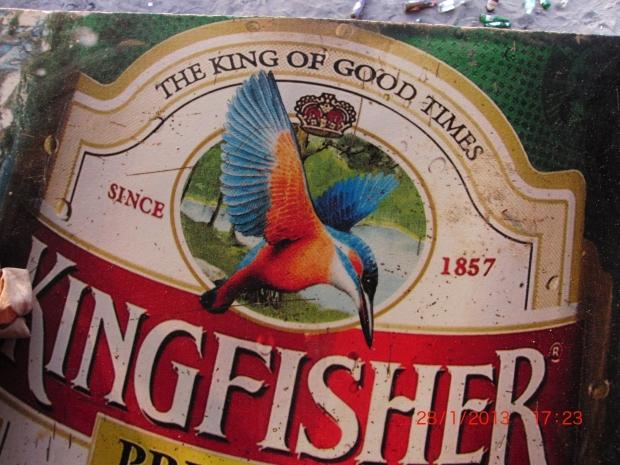 la kingfisher, la birra più amata dai turisti