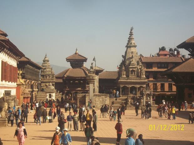 la valle di kathmandu