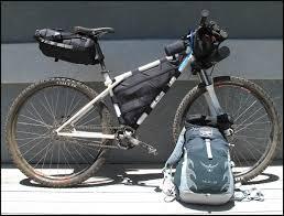 una bici para bikepacking