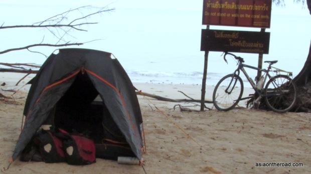 campeggio al Sirinat national park