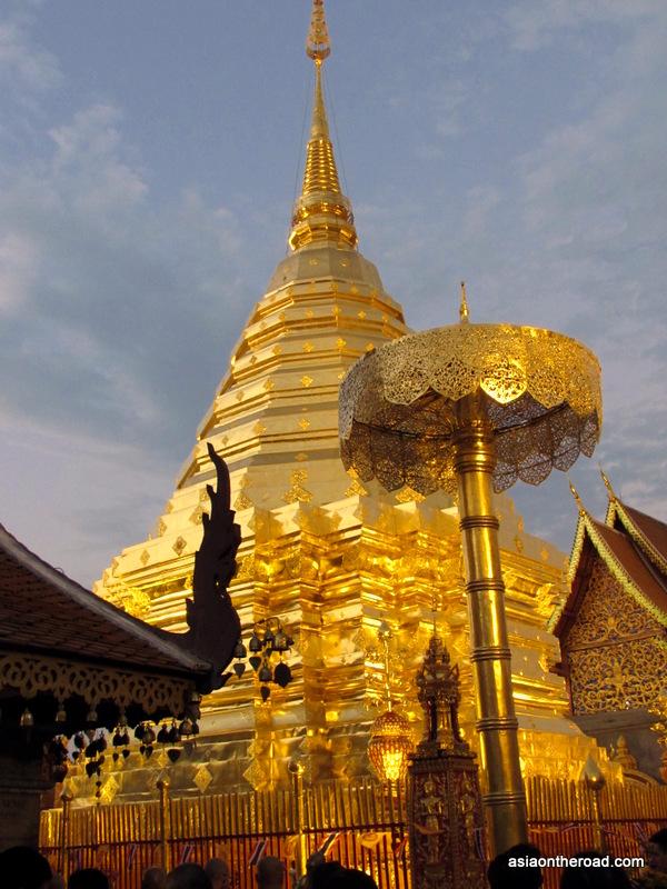 Doi Suthep stupa